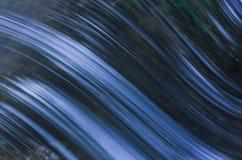 Onda con la riflessione blu Fotografia Stock