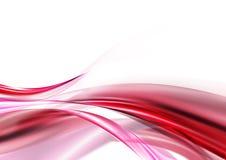 Onda cor-de-rosa ilustração royalty free