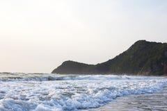 Onda costiera Fotografia Stock