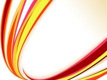 Onda creativa del color abstracto Imagenes de archivo