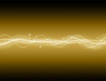 Onda da energia ilustração royalty free