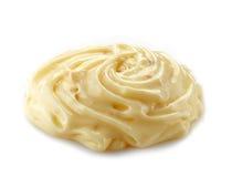 Onda da maionese ou do queijo processado Foto de Stock