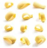 Onda da manteiga isolada Imagem de Stock