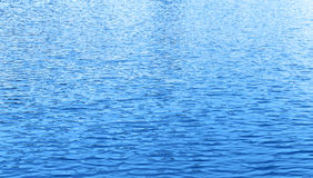 Onda de água azul Foto de Stock