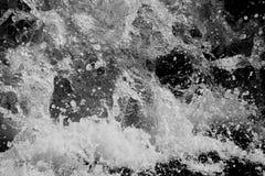 A onda de água espirra Fotos de Stock Royalty Free