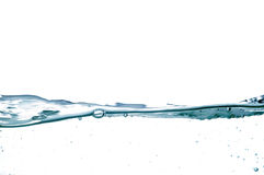 Onda de agua Imágenes de archivo libres de regalías