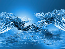 Onda de agua Imagen de archivo