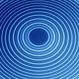 Onda de agua azul Imágenes de archivo libres de regalías