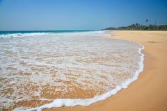 Onda de agua del océano Imagenes de archivo