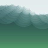 Onda de agua Ilustración del vector para su agua dulce de design Foto de archivo