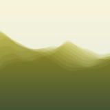 Onda de agua Ilustración del vector para su agua dulce de design Imágenes de archivo libres de regalías