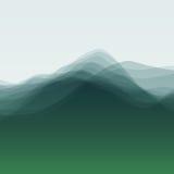 Onda de agua Ilustración del vector para su agua dulce de design Fotografía de archivo