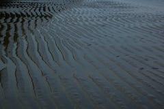 Onda de areia Fotografia de Stock Royalty Free