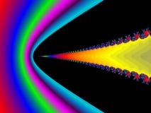 Onda de choque ilustración del vector