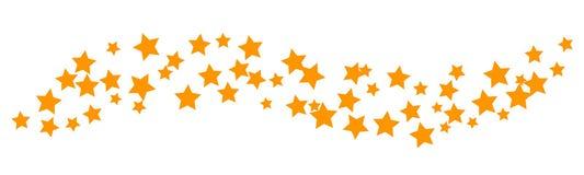 Onda de estrellas - vector del fondo libre illustration