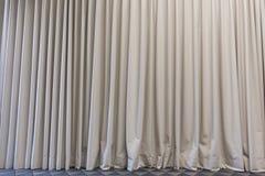 onda de la cortina de la puerta/de ventana Fotografía de archivo libre de regalías