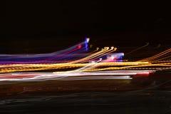 Onda de la energía del resplandor imagen del fondo del extracto del efecto luminoso Foto de archivo libre de regalías