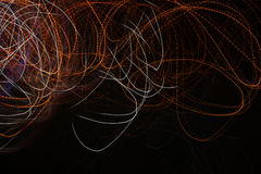 Onda de la energía del resplandor imagen del fondo del extracto del efecto luminoso Imagen de archivo