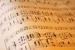 Onda de la música Imagen de archivo libre de regalías