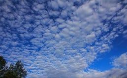Onda de la nube Fotografía de archivo libre de regalías