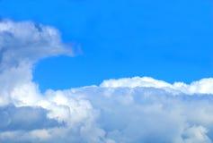 Onda de las nubes Imágenes de archivo libres de regalías
