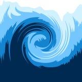 Onda de océano stock de ilustración