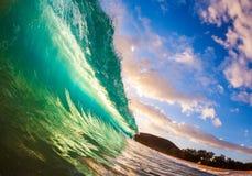 Onda de océano fotografía de archivo