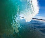 Onda de océano azul foto de archivo