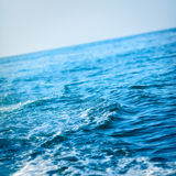 Onda de océano azul Imagen de archivo libre de regalías