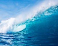 Onda de océano azul Fotos de archivo libres de regalías