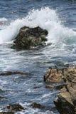 Onda de océano de Monterey Imágenes de archivo libres de regalías