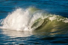 Onda de Oceano Atlântico Imagens de Stock