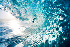 Onda de oceano azul Fotografia de Stock
