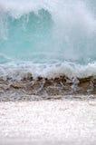 Onda de oceano em Baja California Sur, México imagem de stock