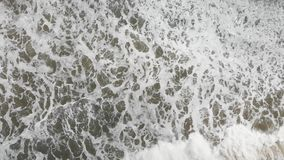 Onda de oceano que rola fora da costa de Califórnia vídeos de arquivo