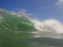 Onda de ondulação em Costa-Rica Foto de Stock Royalty Free