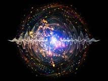 Onda de Quantum Foto de archivo