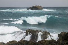 Onda 2 de Waterscape Foto de archivo libre de regalías