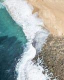 Onda de Waterscape Fotografía de archivo