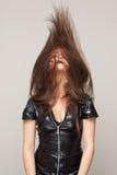 Onda dei capelli Fotografia Stock Libera da Diritti