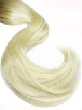 Onda dei capelli biondi Fotografie Stock