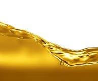 Onda del aceite Fotografía de archivo