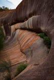 Onda del arco iris, roca de Elachbutting imagen de archivo libre de regalías