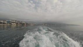 Onda del barco metrajes
