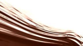 Onda del chocolate stock de ilustración