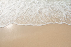 Onda del mar en la playa Fotos de archivo