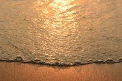 Onda del mar en la playa Fotografía de archivo