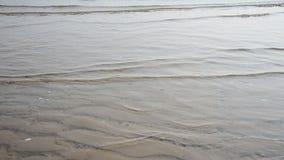 Onda del mar por mañana y tiempo de la salida del sol almacen de metraje de vídeo