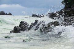 Onda del mare Immagine Stock