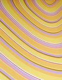 Onda del papel pintado de la cosecha Foto de archivo